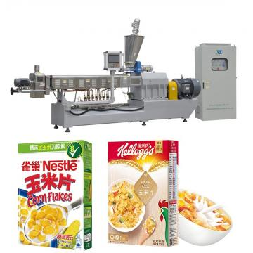 China Quality Cereals Corn Flakes Snack Food Machine