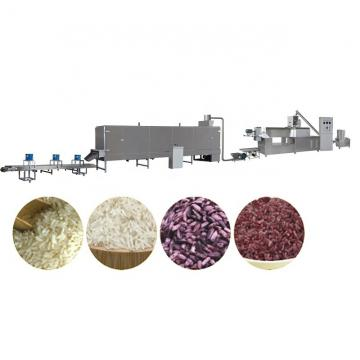 Full Automatic Puffed Nutrition Artificial Rice Extruder Making Machine