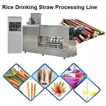New Material Tapioca Rice Edible Straws Biodegradable Disposable Drinking Straws Extrusion