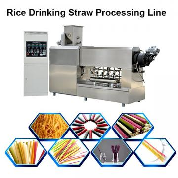 Pasta Macaroni Starch Degradable Drinking Straw Extruder Processing Machinery Manufacturer