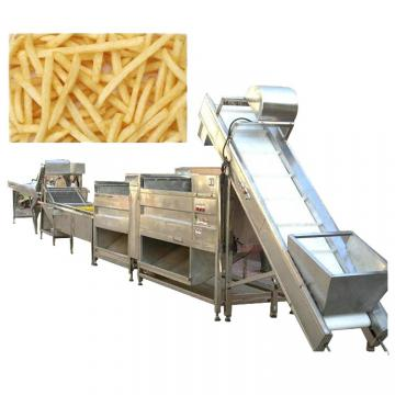 100Kg/H Lay'S Potato Chips Maker Production Complete Video Of Potato Chip Processing Line