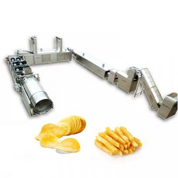 Industrial Full Automatic Fresh Potato Chips Equipment Frozen French Fries Production Line Price